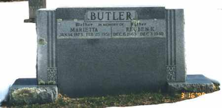AVERY BUTLER, MARETTA - Carroll County, Arkansas | MARETTA AVERY BUTLER - Arkansas Gravestone Photos