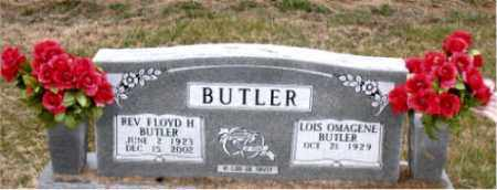 BUTLER, REV.  FLOYD H. - Carroll County, Arkansas | REV.  FLOYD H. BUTLER - Arkansas Gravestone Photos