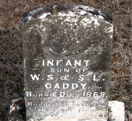 CADDY, INFANT SON - Carroll County, Arkansas | INFANT SON CADDY - Arkansas Gravestone Photos