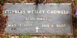 CADWELL (VETERAN), CHARLES WESLEY - Carroll County, Arkansas | CHARLES WESLEY CADWELL (VETERAN) - Arkansas Gravestone Photos