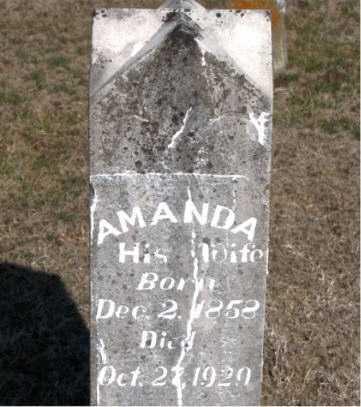 CALLEN, AMANDA - Carroll County, Arkansas | AMANDA CALLEN - Arkansas Gravestone Photos