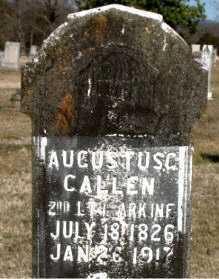 CALLEN (VETERAN UNION), AUGUSTUS G - Carroll County, Arkansas | AUGUSTUS G CALLEN (VETERAN UNION) - Arkansas Gravestone Photos