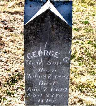 CALLEN, GEORGE G - Carroll County, Arkansas | GEORGE G CALLEN - Arkansas Gravestone Photos