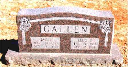 CALLEN, HALLIE - Carroll County, Arkansas | HALLIE CALLEN - Arkansas Gravestone Photos