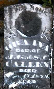 CALLEN, ORA IVA - Carroll County, Arkansas | ORA IVA CALLEN - Arkansas Gravestone Photos