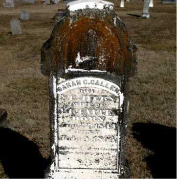 CALLEN, SARAH C. - Carroll County, Arkansas | SARAH C. CALLEN - Arkansas Gravestone Photos