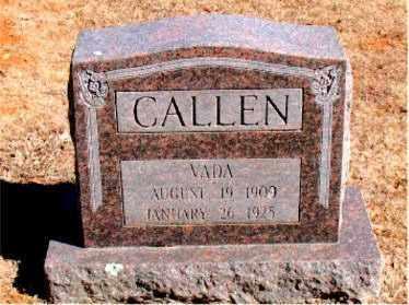 CALLEN, VADA - Carroll County, Arkansas | VADA CALLEN - Arkansas Gravestone Photos