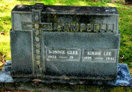 CAMPBELL, KIRBIE LEE - Carroll County, Arkansas | KIRBIE LEE CAMPBELL - Arkansas Gravestone Photos