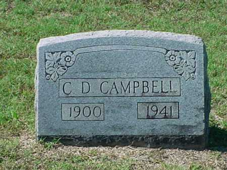 CAMPBELL, C  D - Carroll County, Arkansas | C  D CAMPBELL - Arkansas Gravestone Photos