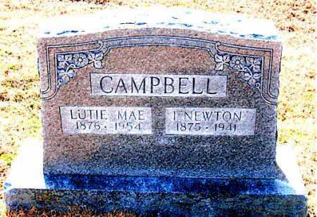 CAMPBELL, LUTIE MAE - Carroll County, Arkansas | LUTIE MAE CAMPBELL - Arkansas Gravestone Photos