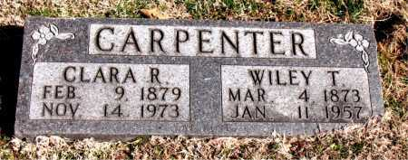 CARPENTER, WILEY T. - Carroll County, Arkansas | WILEY T. CARPENTER - Arkansas Gravestone Photos