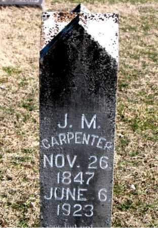 CARPENTER, J M - Carroll County, Arkansas | J M CARPENTER - Arkansas Gravestone Photos