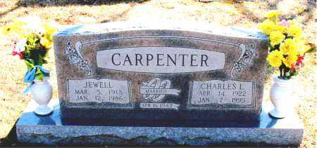 CARPENTER, CHARLES L. - Carroll County, Arkansas | CHARLES L. CARPENTER - Arkansas Gravestone Photos