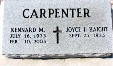 CARPENTER, KENNARD M. - Carroll County, Arkansas | KENNARD M. CARPENTER - Arkansas Gravestone Photos