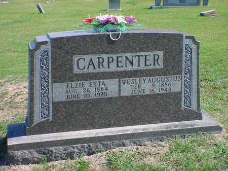 COWEN CARPENTER, ELZIE ETTA - Carroll County, Arkansas | ELZIE ETTA COWEN CARPENTER - Arkansas Gravestone Photos