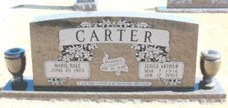 CARTER, JUDGE ARTHUR - Carroll County, Arkansas | JUDGE ARTHUR CARTER - Arkansas Gravestone Photos