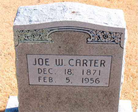 CARTER, JOE W. - Carroll County, Arkansas | JOE W. CARTER - Arkansas Gravestone Photos