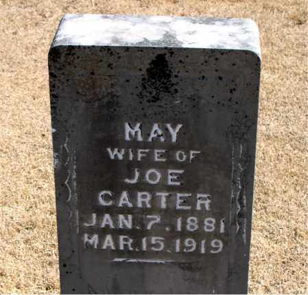 CARTER, MAY - Carroll County, Arkansas | MAY CARTER - Arkansas Gravestone Photos