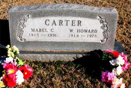 CARTER, W. HOWARD - Carroll County, Arkansas | W. HOWARD CARTER - Arkansas Gravestone Photos
