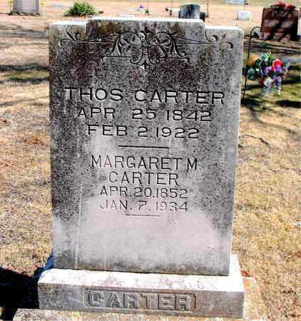 CARTER, MARGARET M. - Carroll County, Arkansas | MARGARET M. CARTER - Arkansas Gravestone Photos