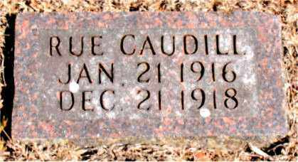 CAUDILL, RUE - Carroll County, Arkansas | RUE CAUDILL - Arkansas Gravestone Photos