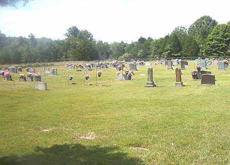 *GOBBLE CEMETERY OVERVIEW,  - Carroll County, Arkansas |  *GOBBLE CEMETERY OVERVIEW - Arkansas Gravestone Photos