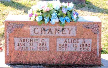 CHANEY, ARCHIE  C. - Carroll County, Arkansas | ARCHIE  C. CHANEY - Arkansas Gravestone Photos