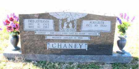 CHANEY, FRED JEFFERSON - Carroll County, Arkansas | FRED JEFFERSON CHANEY - Arkansas Gravestone Photos