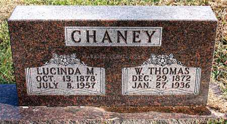 CHANEY, W. THOMAS - Carroll County, Arkansas | W. THOMAS CHANEY - Arkansas Gravestone Photos