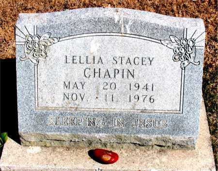 CHAPIN, LELLIA STACEY - Carroll County, Arkansas | LELLIA STACEY CHAPIN - Arkansas Gravestone Photos