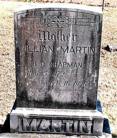 MARTIN CHAPMAN, LILLIAN - Carroll County, Arkansas | LILLIAN MARTIN CHAPMAN - Arkansas Gravestone Photos