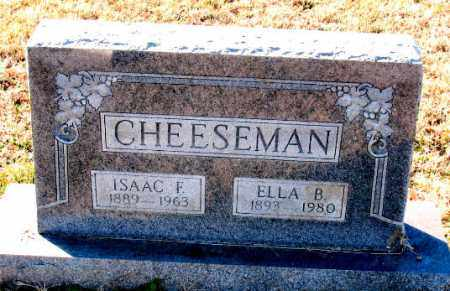 CHEESEMAN, ELLA  B. - Carroll County, Arkansas | ELLA  B. CHEESEMAN - Arkansas Gravestone Photos