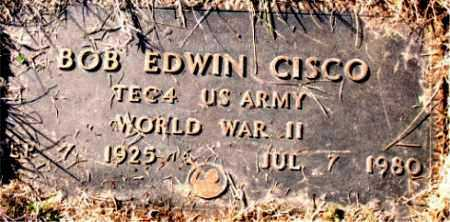 CISCO (VETERAN WWII), BOB EDWIN - Carroll County, Arkansas | BOB EDWIN CISCO (VETERAN WWII) - Arkansas Gravestone Photos