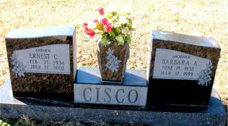 CISCO, ERNEST C. - Carroll County, Arkansas | ERNEST C. CISCO - Arkansas Gravestone Photos