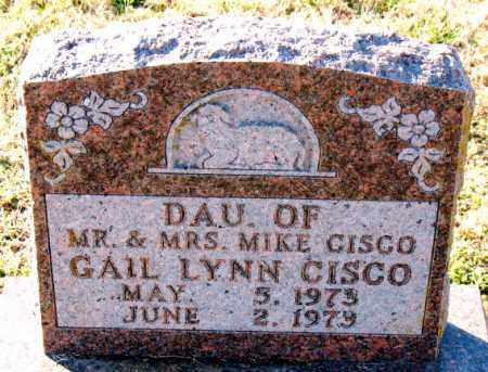 CISCO, GAIL LYNN - Carroll County, Arkansas | GAIL LYNN CISCO - Arkansas Gravestone Photos
