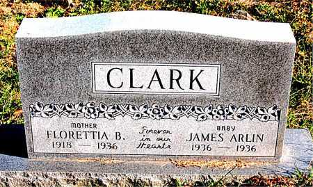 CLARK, FLORETTIA  B. - Carroll County, Arkansas | FLORETTIA  B. CLARK - Arkansas Gravestone Photos