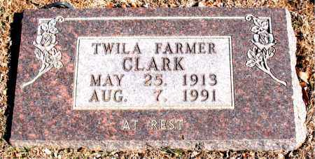 FARMER CLARK, TWILA - Carroll County, Arkansas | TWILA FARMER CLARK - Arkansas Gravestone Photos