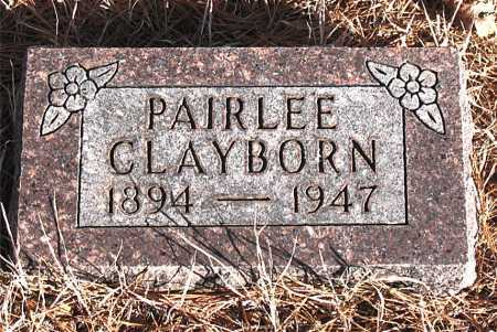 CLAYBORN, PAIRLEE - Carroll County, Arkansas | PAIRLEE CLAYBORN - Arkansas Gravestone Photos