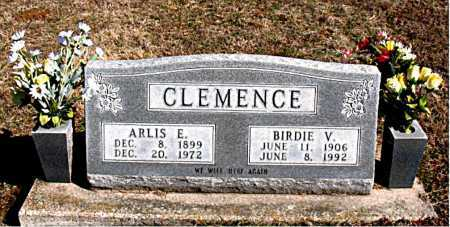 CLEMENCE, ARLIS E. - Carroll County, Arkansas | ARLIS E. CLEMENCE - Arkansas Gravestone Photos