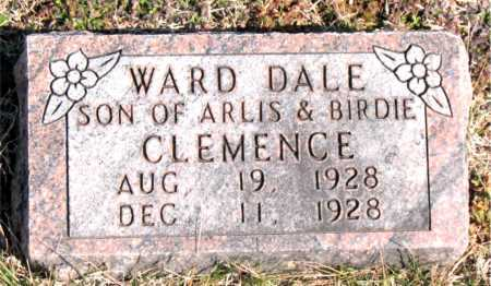 CLEMENCE, WARD DALE - Carroll County, Arkansas | WARD DALE CLEMENCE - Arkansas Gravestone Photos