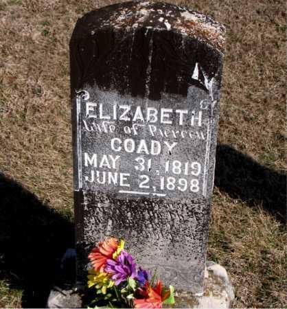 COADY, ELIZABETH - Carroll County, Arkansas | ELIZABETH COADY - Arkansas Gravestone Photos