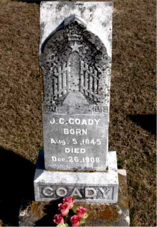 COADY, J  C - Carroll County, Arkansas | J  C COADY - Arkansas Gravestone Photos