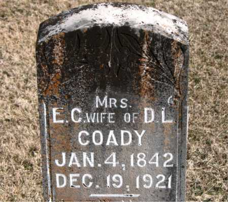 COADY, MRS E  C - Carroll County, Arkansas   MRS E  C COADY - Arkansas Gravestone Photos