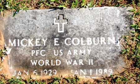 COLBURN (VETERAN WWII), MICKEY E - Carroll County, Arkansas | MICKEY E COLBURN (VETERAN WWII) - Arkansas Gravestone Photos