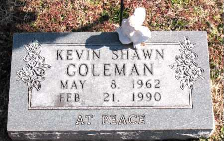 COLEMAN, KEVIN SHAWN - Carroll County, Arkansas | KEVIN SHAWN COLEMAN - Arkansas Gravestone Photos