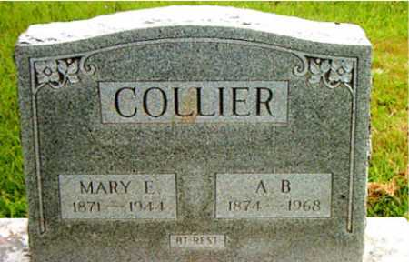 COLLIER, A.B. - Carroll County, Arkansas | A.B. COLLIER - Arkansas Gravestone Photos