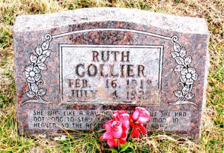 COLLIER, RUTH - Carroll County, Arkansas | RUTH COLLIER - Arkansas Gravestone Photos