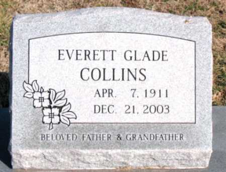 COLLINS, EVERETT GLADE - Carroll County, Arkansas | EVERETT GLADE COLLINS - Arkansas Gravestone Photos