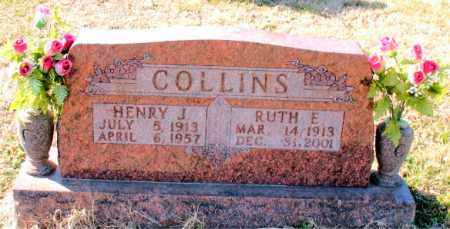 COLLINS, RUTH  E. - Carroll County, Arkansas | RUTH  E. COLLINS - Arkansas Gravestone Photos