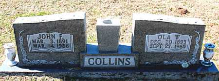 COLLINS, OLA W. - Carroll County, Arkansas | OLA W. COLLINS - Arkansas Gravestone Photos